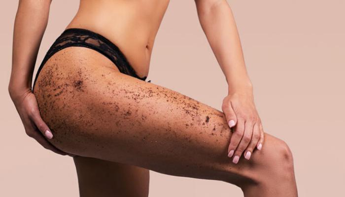 ноги, бедра, скраб, красивые, женские, пилинг, отшелушивание, целлюлит