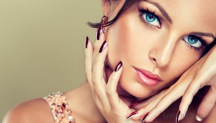 Красивая ухоженная женщина