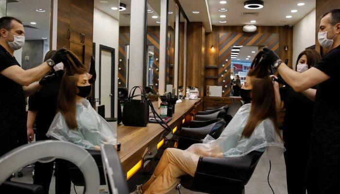 После карантина в салоне красоты