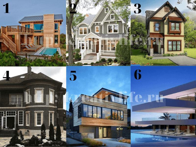 Тест по картинкам домов на характер
